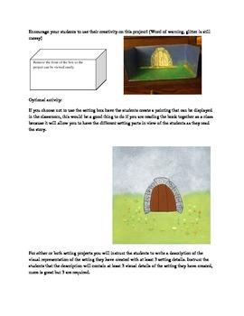 Farquhar's Family Secret: Fairy Notes Book 1 Lesson Plan: Setting