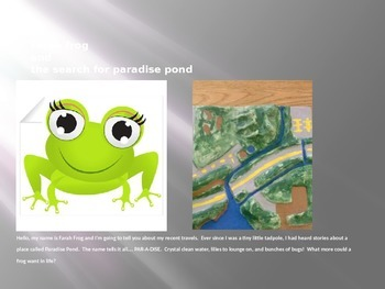 Farah Frog and the Search for Paradise Pond