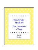 Faschingsmasken For German Class