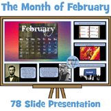 Fascinating February Facts PowerPoint Presentation