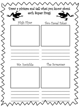 Fascinating Frogs: Common Core Comprehension Packet