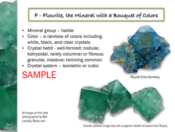 Rocks & Minerals A - O Mini Course (Part I)