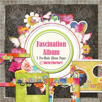 Fascination Printable Digital Album