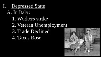 Fascism in Italy PowerPoint