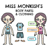 Fashion Clothing Dress Up and Body Parts