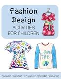 Fashion Design Art Activities