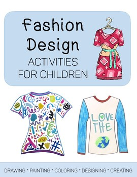 Fashion Design Art Activities By Art Is Basic Teachers Pay Teachers