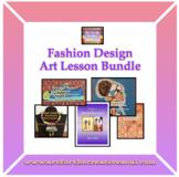 Fashion Design Art Lesson Bundle