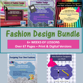 Fashion Design BUNDLE   Distance Learning