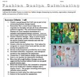 Fashion Design - Create 4 fashion Designs in Pencil Crayon