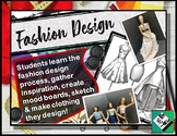 Fashion Design: Gather inspiration, create mood boards, sk