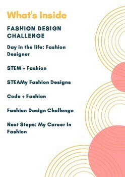 Fashion Design STEM Challenge (distance learning mini course)
