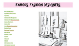 Fashion Designer Prezi Project