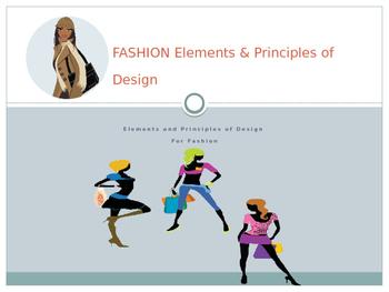 Fashion Elements Principles Power Point Tpt
