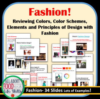 Fashion Elements And Principles Of Design By All About Food And Life Skills
