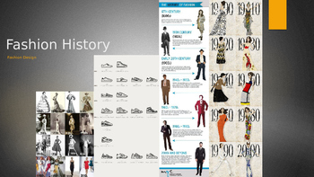 Fashion History PowerPoint