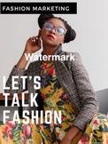 Fashion Marketing Poster