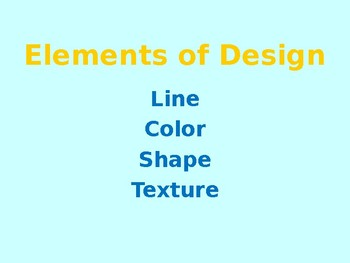 Fashion Principles And Elements Of Design Powerpoint By Facslife