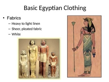 Fashion History: Fashion in Ancient Egypt