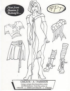 Fashion models and Heroes - A drawing and tracing system!