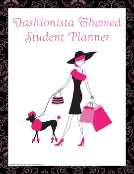 Fashionista Student Planner