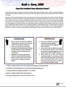 AP Government Fast, Easy Classroom Debates (Landmark Supreme Court Decisions 1)