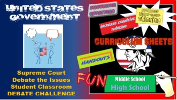 Government Fast, Easy Classroom Debates (Landmark Supreme Court Decisions 1)