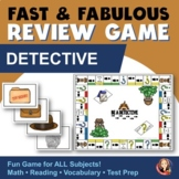 Fact Review Board Game Detective Theme