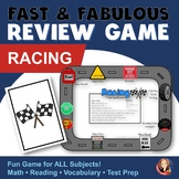 Fact Review Game - Racing Theme