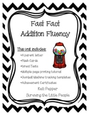 Fast Fact Fluency {Addition Timed Test 1-12}