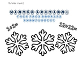 Fast Fact Friend-Z: Doubles Snowflakes