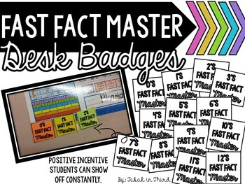 Fast Fact Master Badges