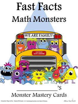 Fast Fact Math Monsters