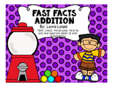 Fast Facts Addition 0-20 TEKS: 2.4A