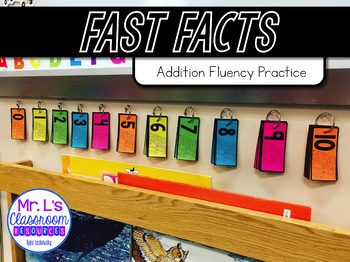 Fast Facts! Addition Fact Fluency Within 10