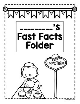 Fast Facts Addition Fluency 0-20