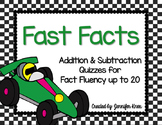Fast Facts! Addition & Subtraction Fact Fluency