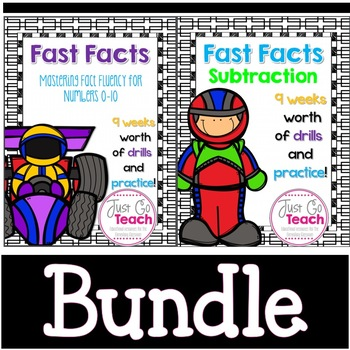 Fast Facts Bundle: Addition and Subtraction