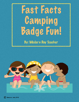 Fast Facts Camping Badge Fun!