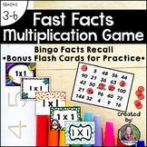 Fast Facts: A Multiplication Game, Bingo Style
