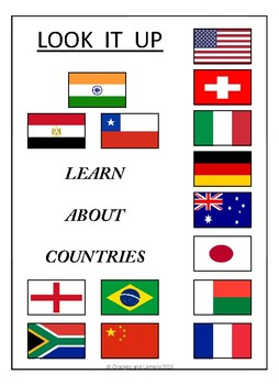 Look It Up - Learn about Countries (Countries of the World Research)