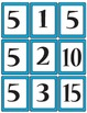 Fast Facts Match Game - Multiplication and Division Fact Fluency