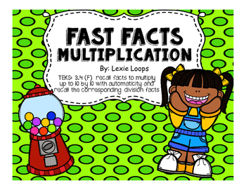 Fast Facts Multiplication TEKS: 3.4F