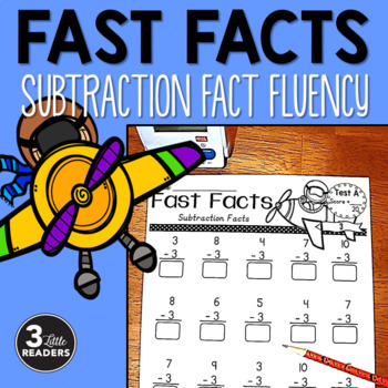 Fast Facts {Subtraction Fact Tests}