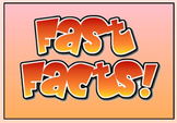 Fast Facts for First and Second Grade (1.OA and 2.OA)