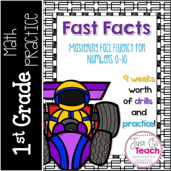 Fast Facts for Fluency: Numbers 0-10