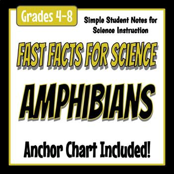 Fast Facts for Science - Amphibians