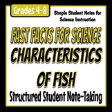 Fast Facts for Science - Characteristics of Fish