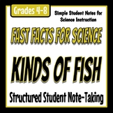 Fast Facts for Science - Kinds of Fish