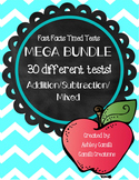 Fast Fast MEGA Bundle: Addition and Subtraction